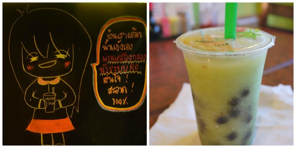 Té de burbujas tailandés