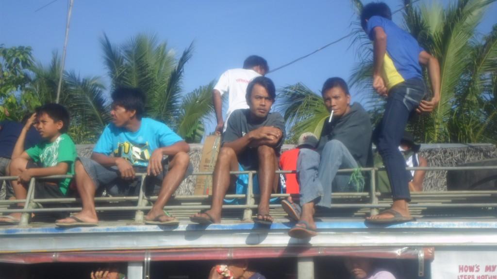 Jeepney en Sabang, Palawan.