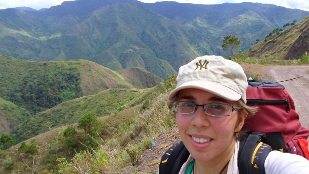 Montañas en Tinglayan, la Cordillera en Filipinas