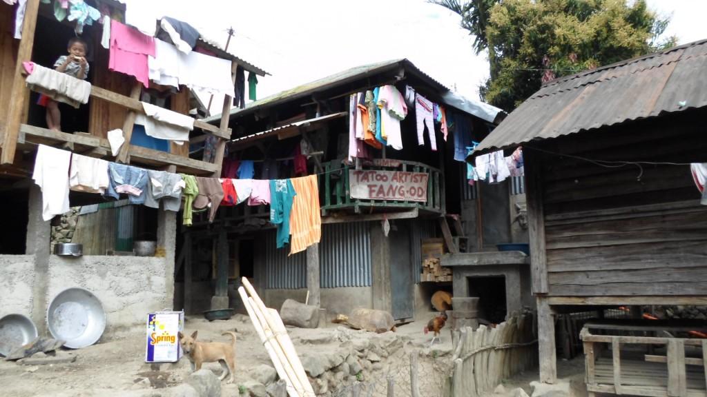 Casa de Whang Od en Buscalan