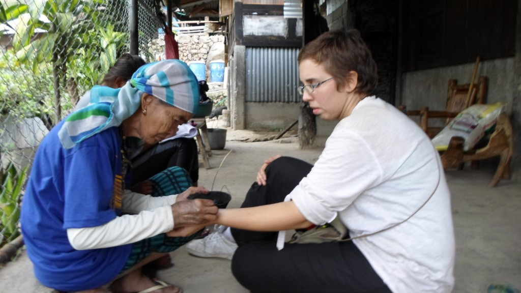 Getting a tattoo from Whang Od in the Philippines