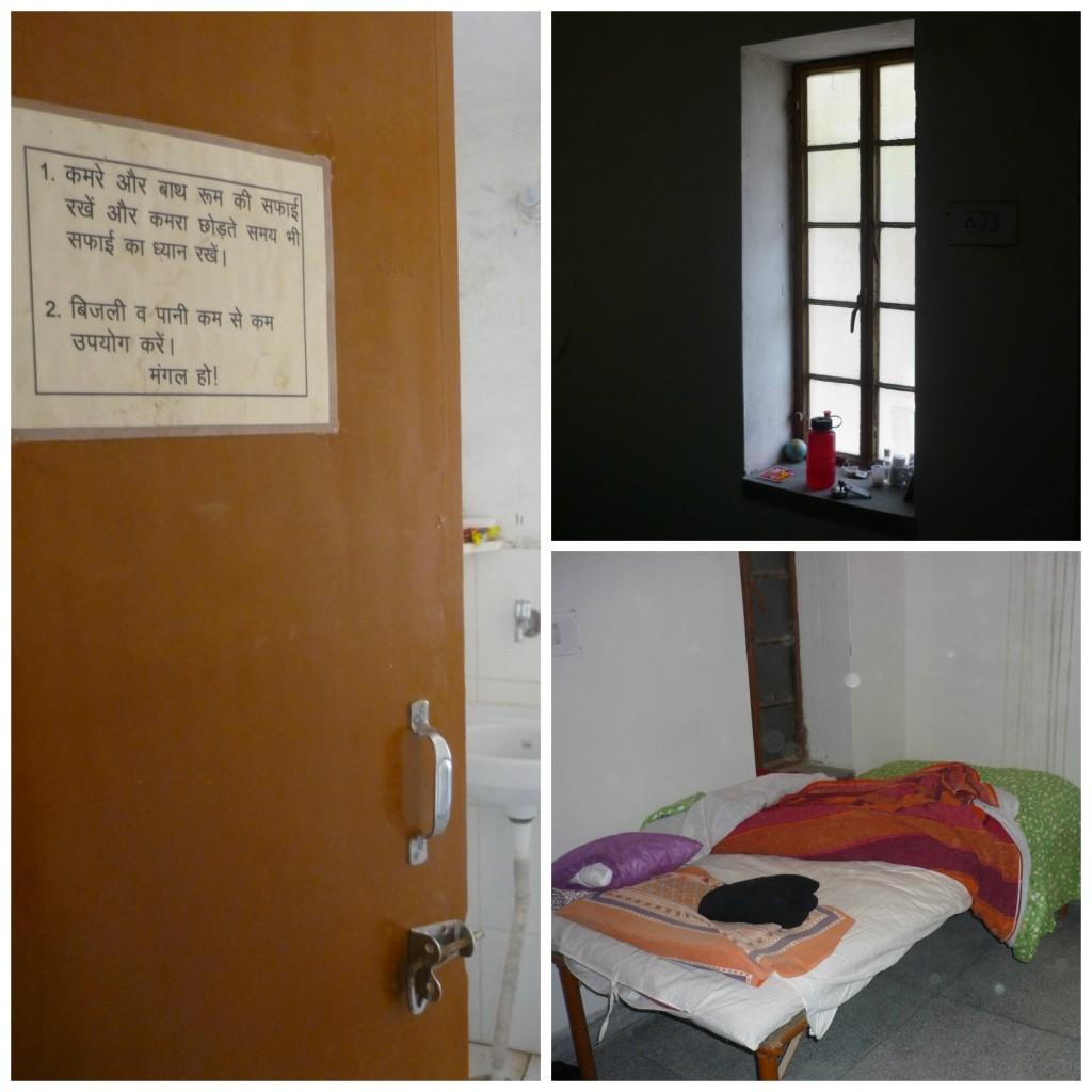 Habitación del curso de meditación Vipassana