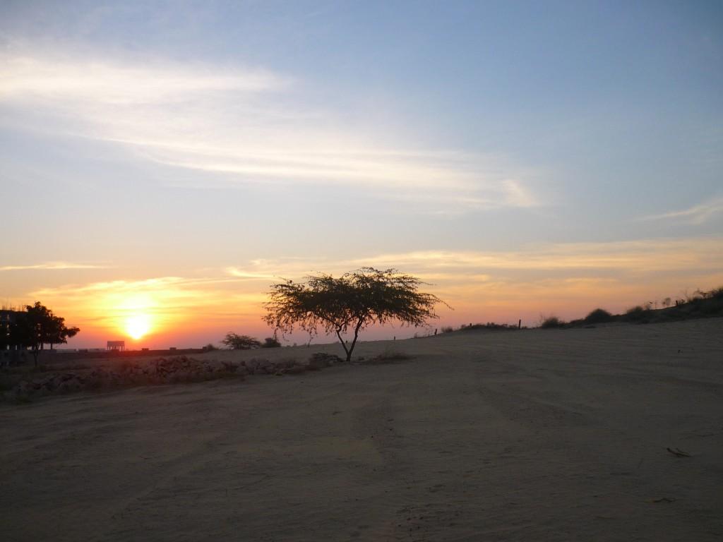 Sunset in Jaipur, India