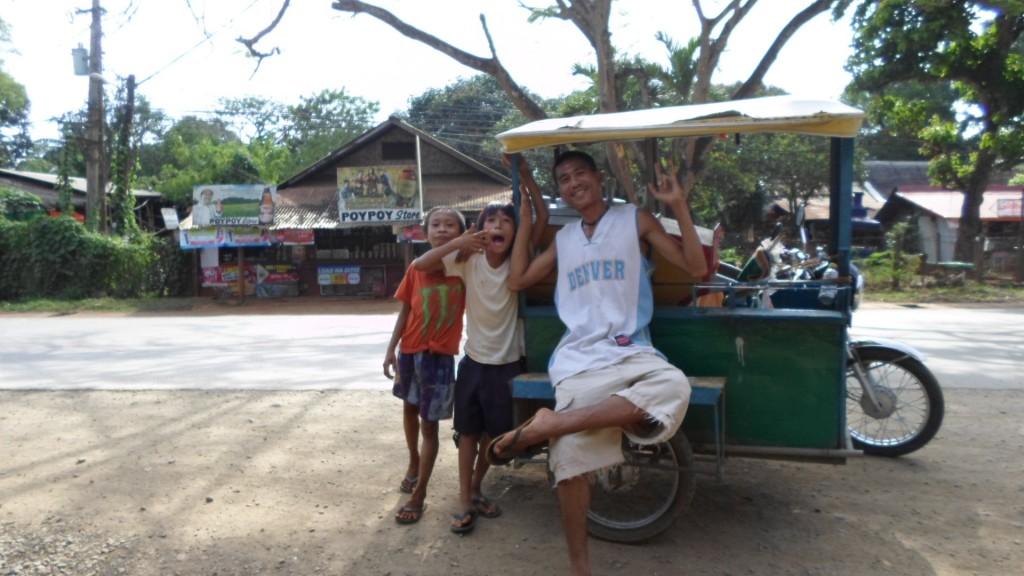 La sonrisa de los filipinos