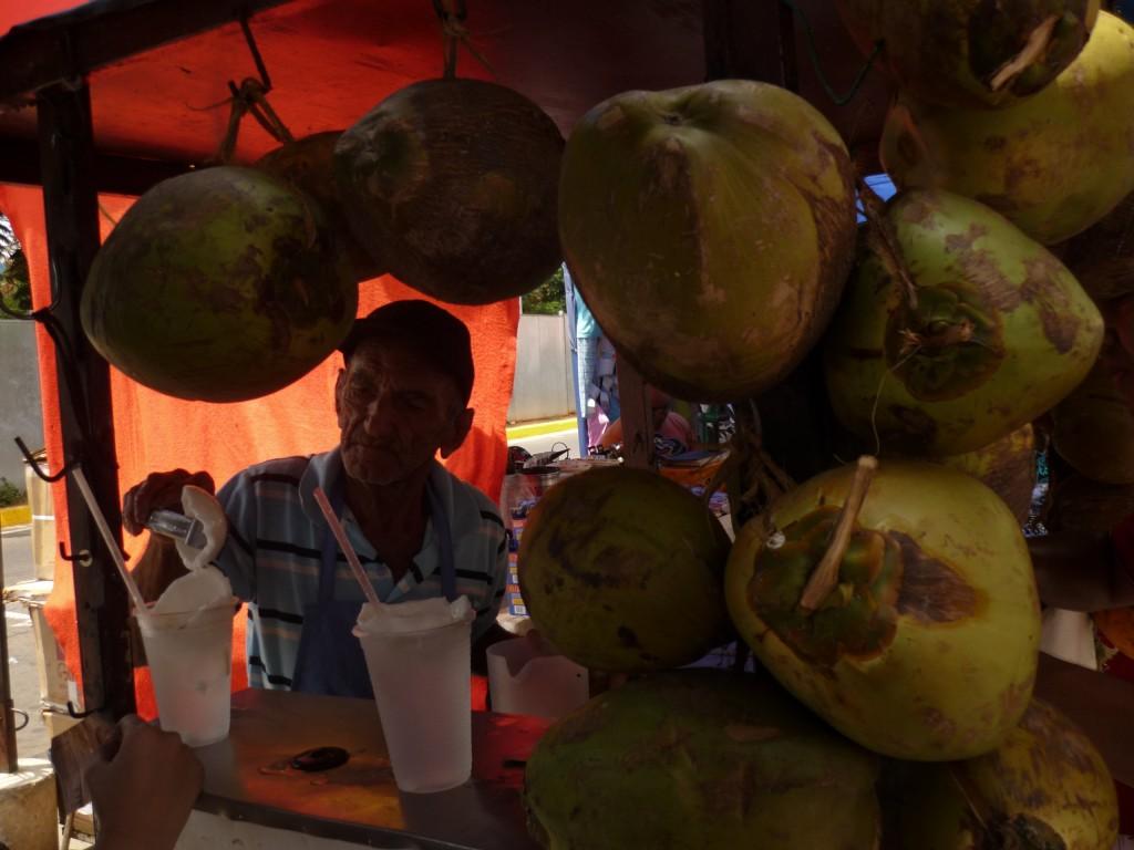 Agua de coco en Venezuela