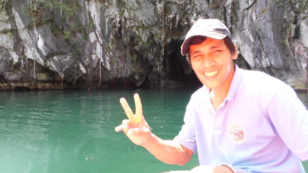 Barquero en Palawan