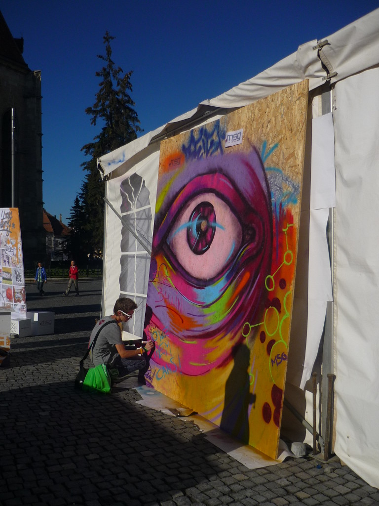 Arte callejero en Cluj