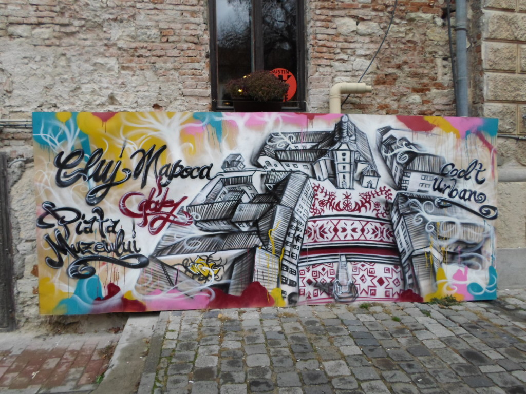 Street art in Cluj Napoca