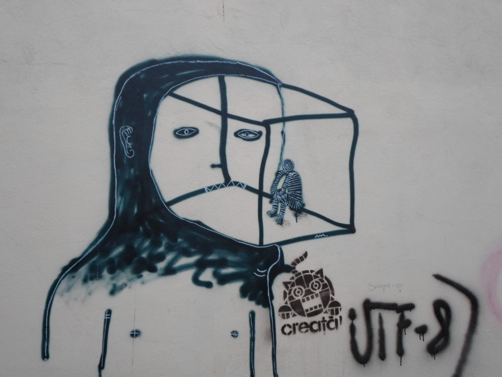 recorrido de graffitti en Cluj Napoca
