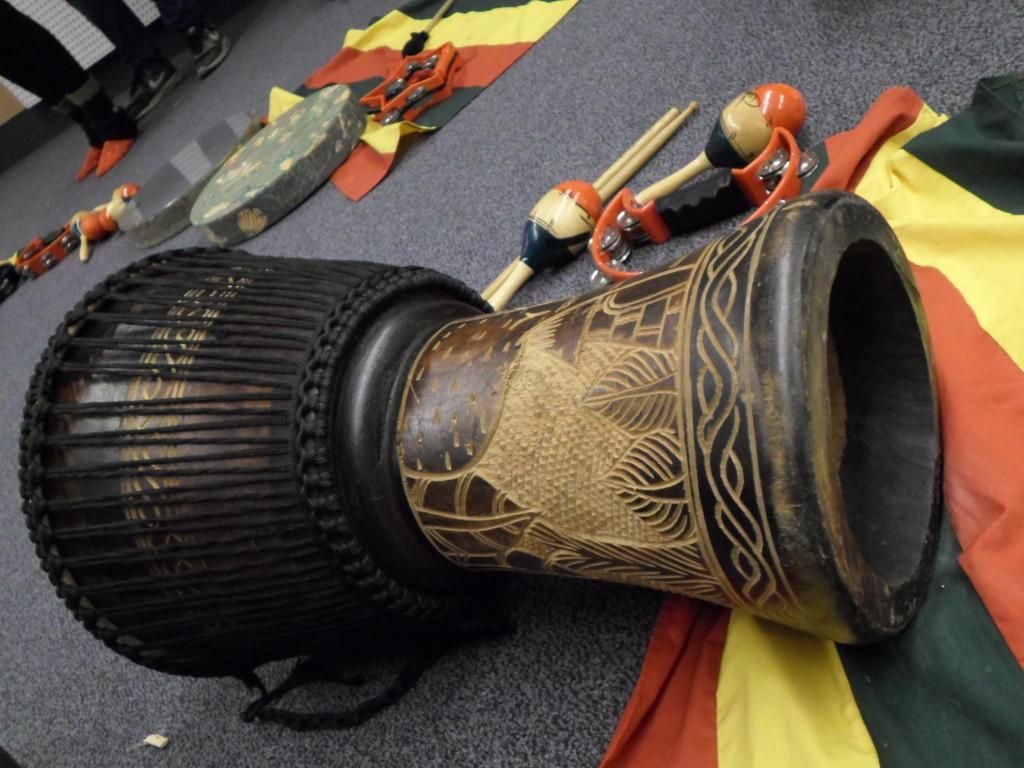 Instrumento Cluj para batucada