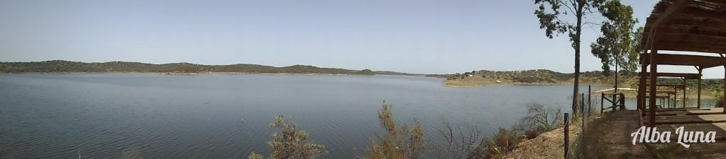 El embalse de Alqueva en Extremadura