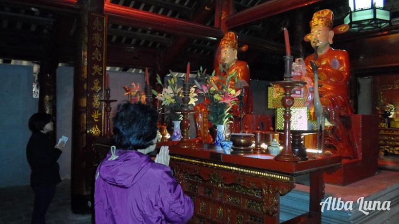 templo literatura Hanoi