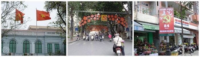 Viajar en tren a Hanoi
