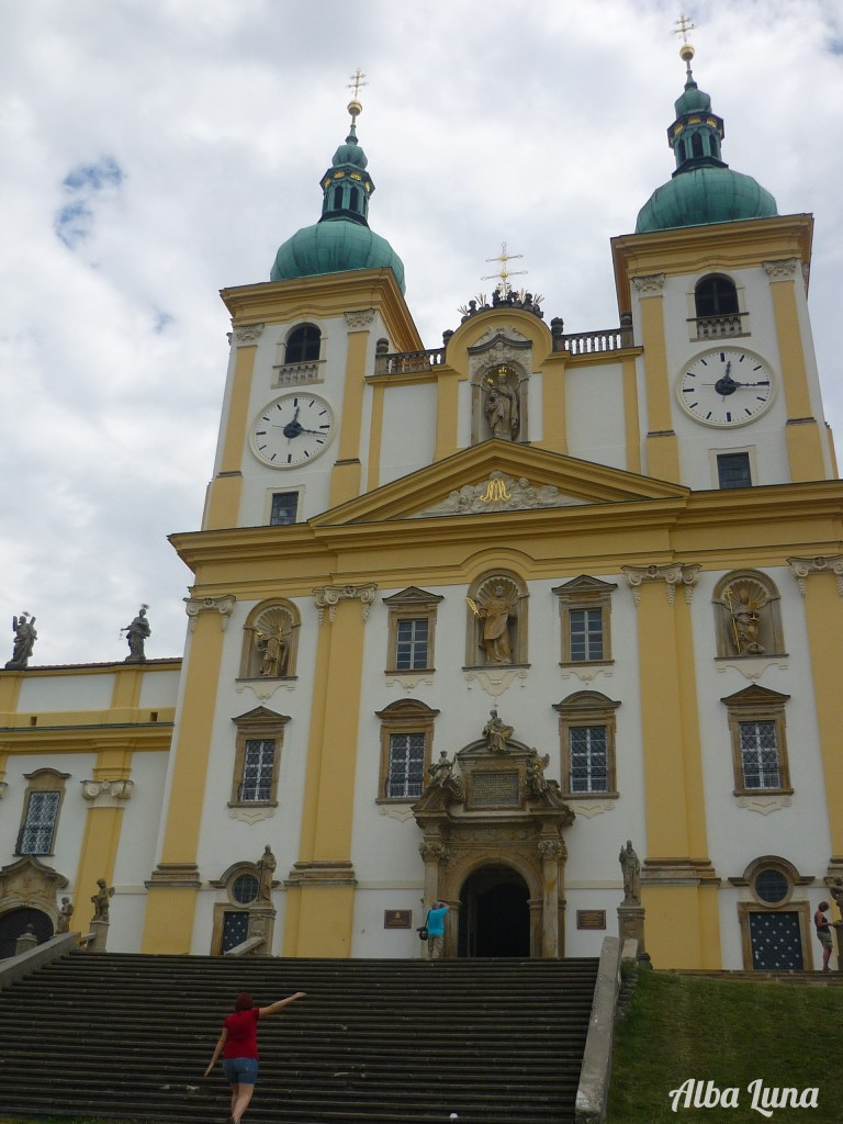 St. Kopacek Church and Monastery in Moravia