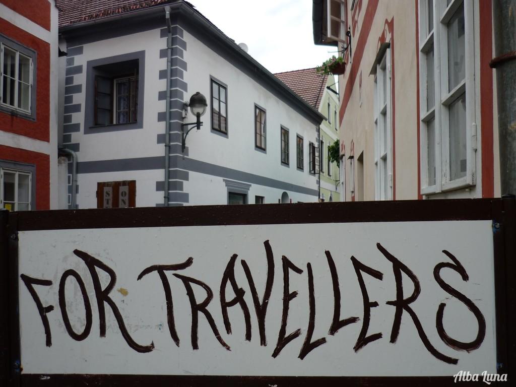 viajeros que viajan de forma alternativa