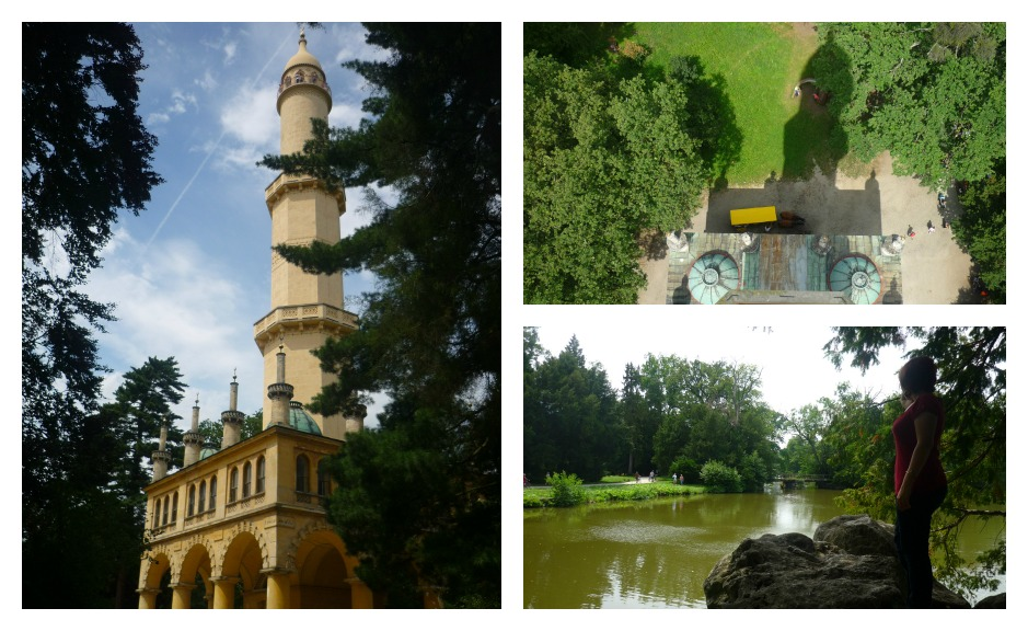 jardines de Lednice en Moravia