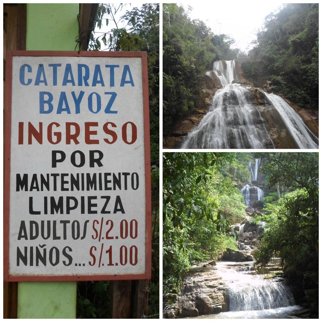 Catarata Bayoz en Perú