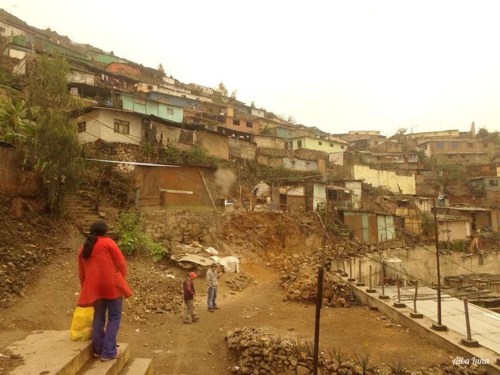 Barrio de Flores de Amancaes en Lima
