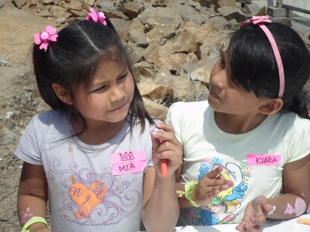 Andando descalza in Peru
