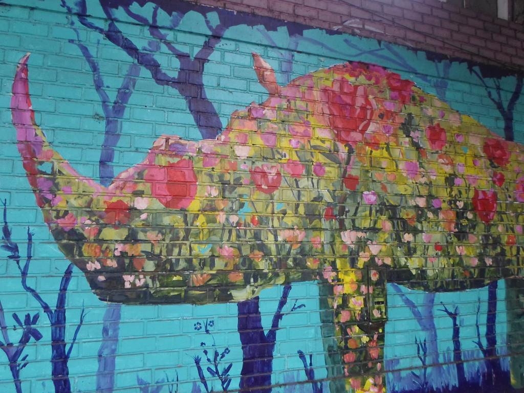 Graffitti en Barranco Lima