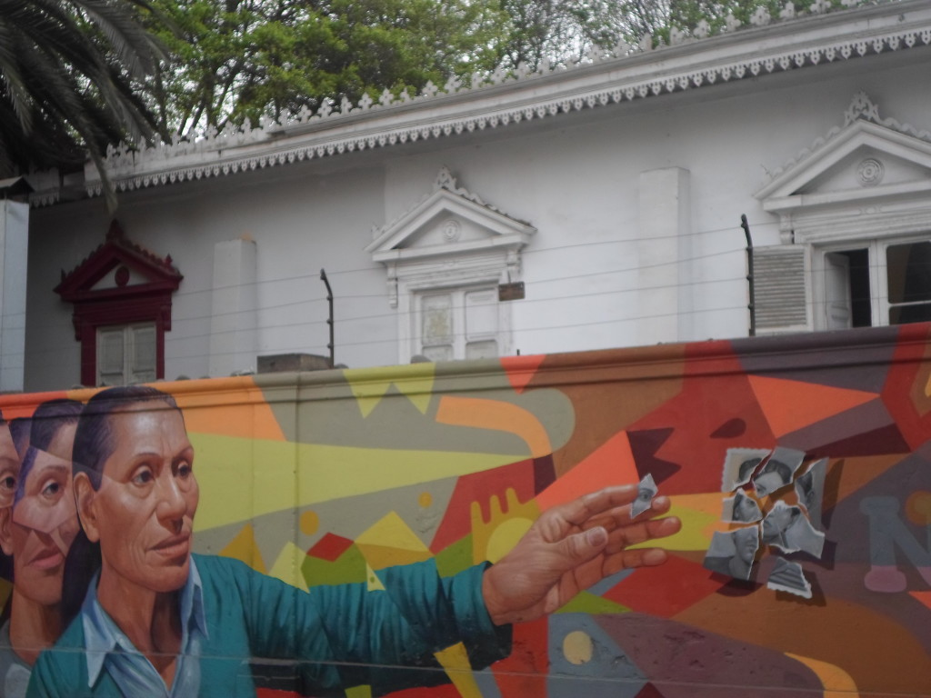 Graffitti en Barranco Lima