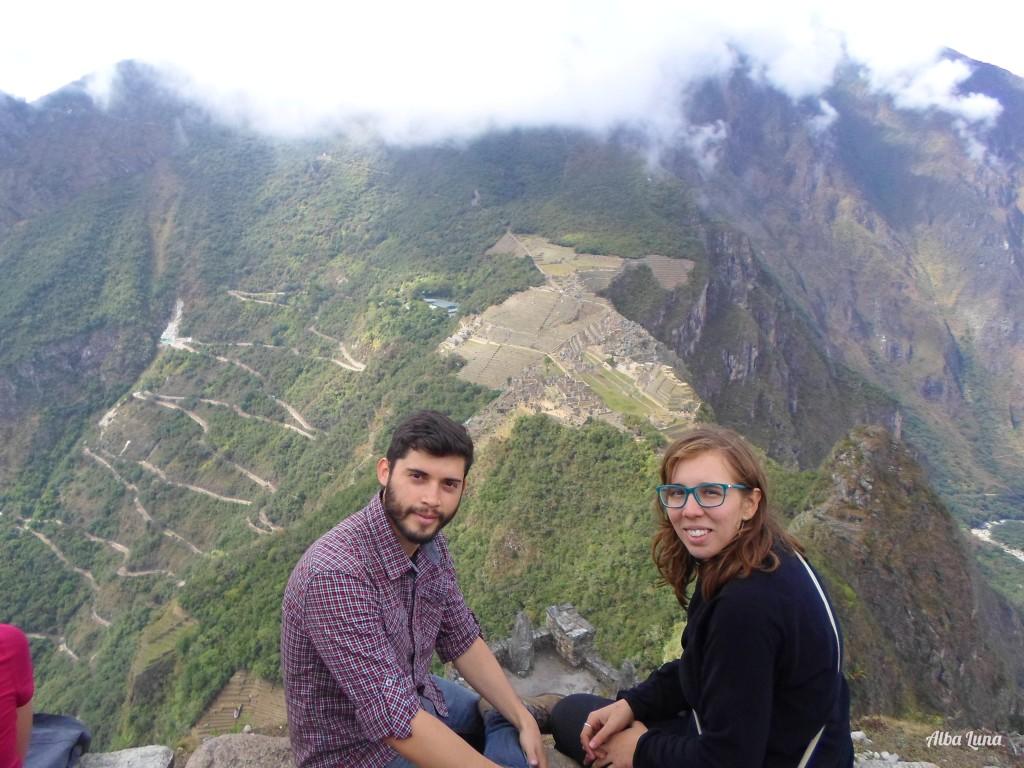 Vistas desde Huayna Pichu