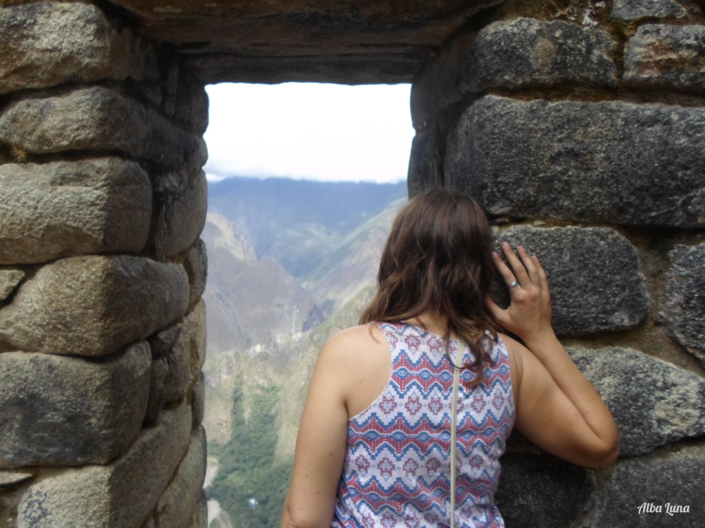 Vistas desde Machu Picchu