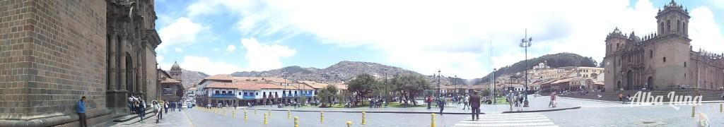 La plaza principal de Cusco