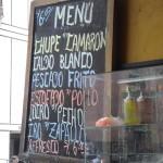 Mi comida favorita en Perú
