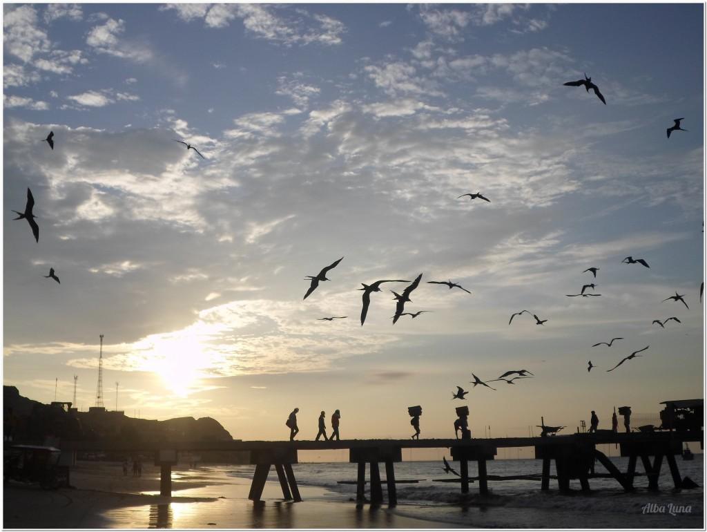 Máncora: costa de Perú