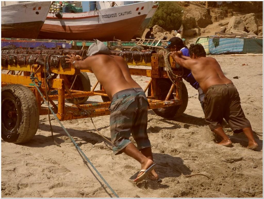 Playa de Máncora en Perú