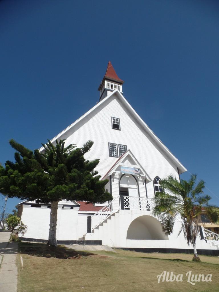 Iglesia bautista en San Andrés islas