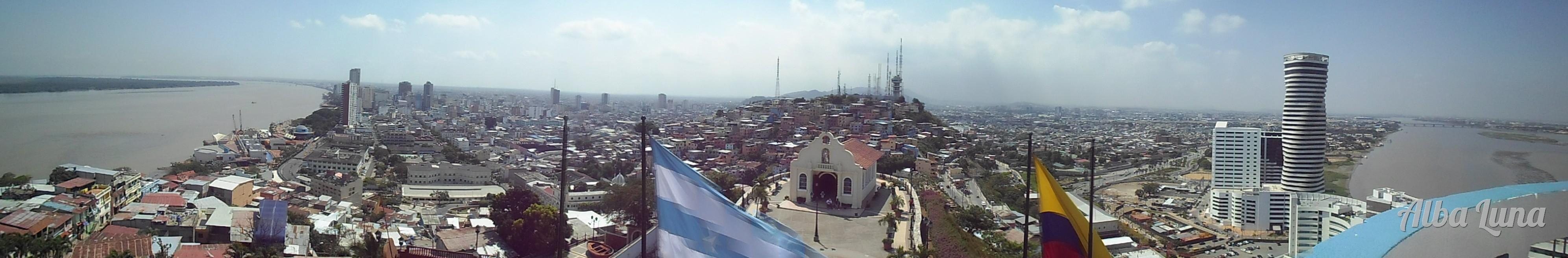 Panorámica Guayaquil Ecuador