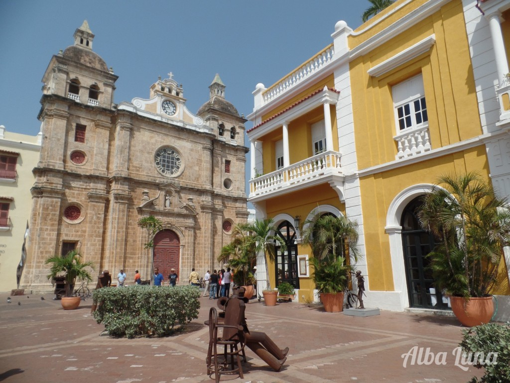 Plaza Cartagena Colombia