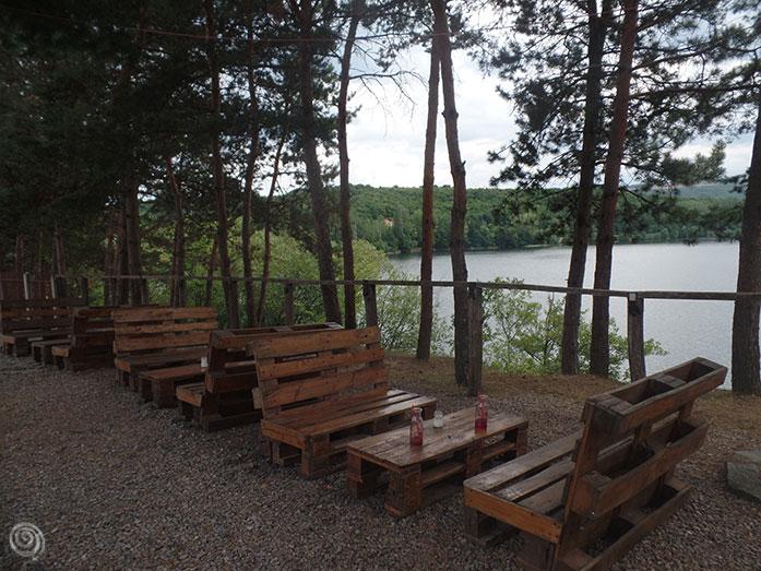 Transilvania lago naturaleza Rumanía