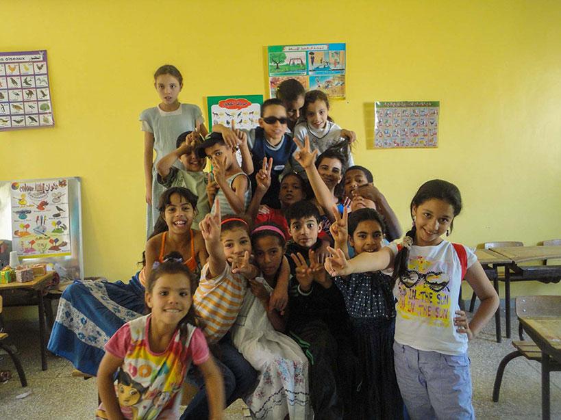 Voluntariado solidario en Marruecos
